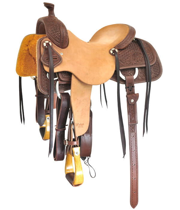 Cow Horse Saddles | Jeff Smiths Custom Western Saddles