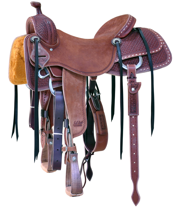 Chestnut Colored Cowhorse