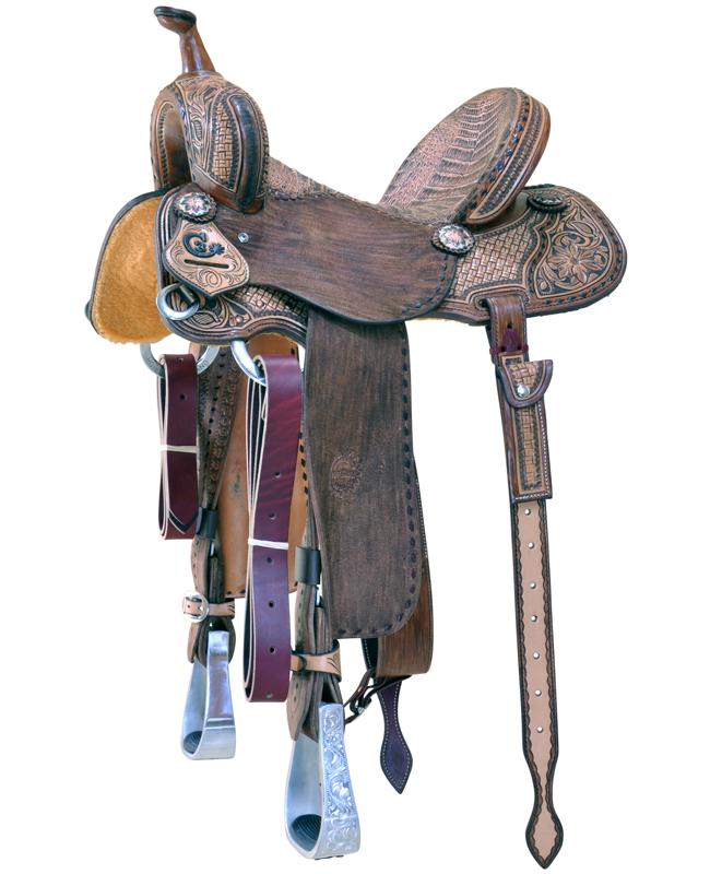 C3 Barrel Saddles | Jeff Smiths Custom Western Saddles