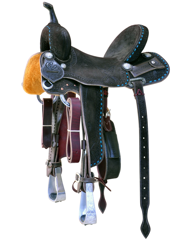 C3 Barrel Racer Saddle