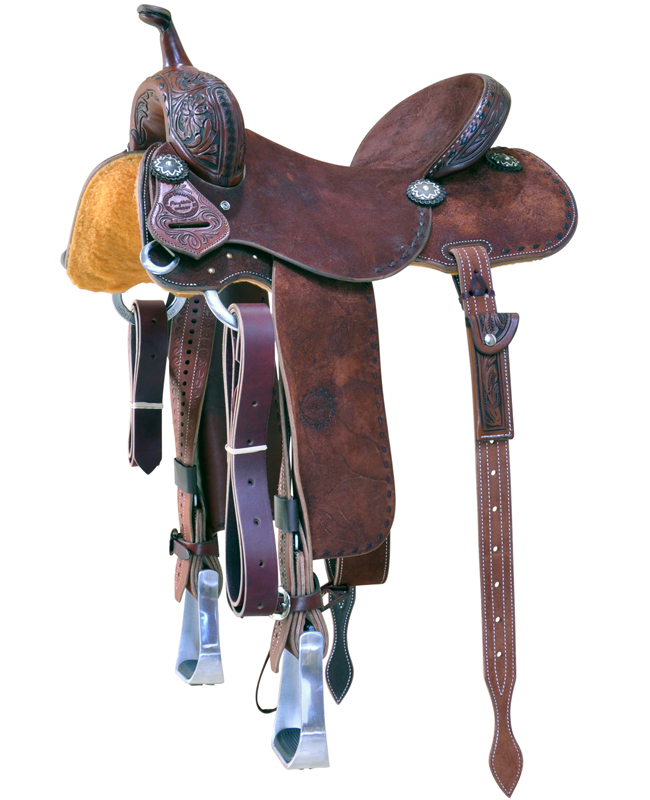 Mary Walker Barrel Race Saddle JSB-2129MW