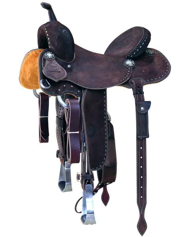 Jackie Ganter Barrel Saddle