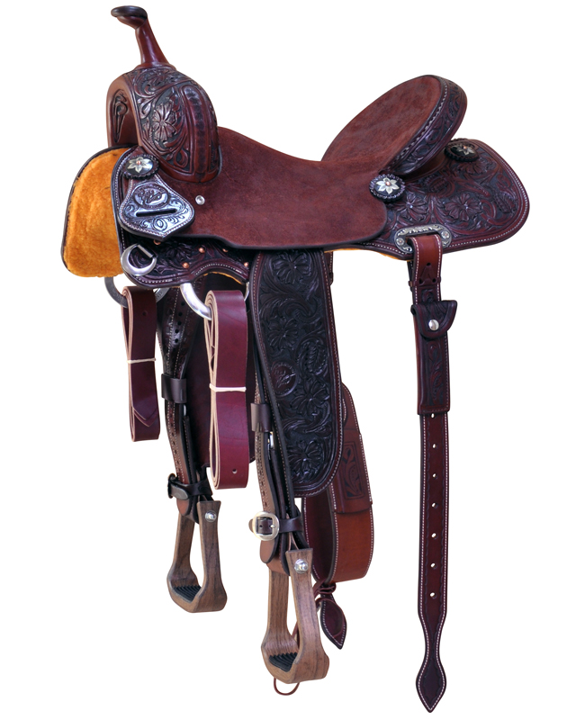 Jacki Ganter Barrel Saddle