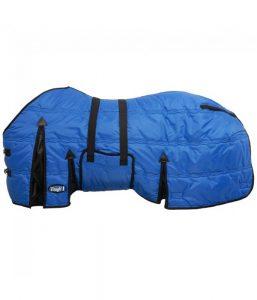 Tough1 600 Denier Winter Stable Blanket Belly Wrap Blue