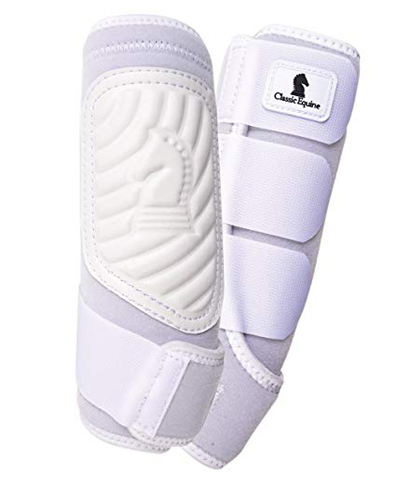 Classic Equine Classic Fit White Protective Boot