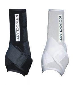 Iconoclast orthopedic sport boot black white