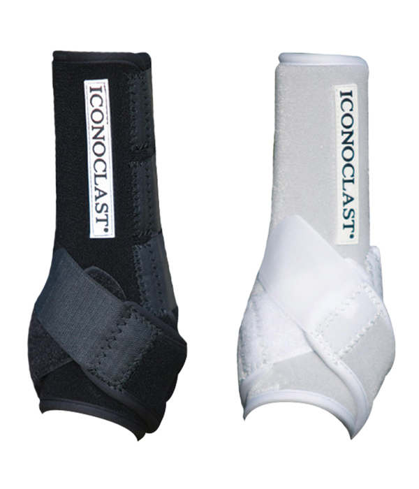 Iconoclast orthopedic sport boot black white